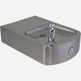 14-Gage Stainless Steel Box Barrier-Free Wall Mount Drinking Fountain