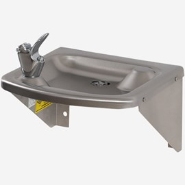 Square Wall Mount Drinking Fountain (Style A4B1)