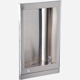 Barrier-Free Stainless Steel Recessed Drinking Fountain
