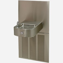 14-Gage Stainless Steel Box Chilled Barrier-Free Wall Mount Drinking Fountain