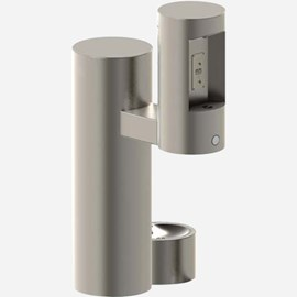 Barrier-Free Outdoor Pedestal Bottle Filler