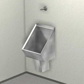 Washout Urinal, Rear Mount