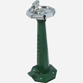 Foot Pedal Operated Octagonal Bowl Retro Style Drinking Fountain