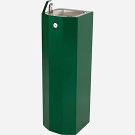 Square Stainless Steel Pedestal Drinking Fountain
