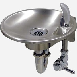 Lever-Operated Valve Wall Mounted Drinking Fountain
