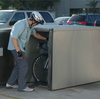 Bicycle Security Lockers