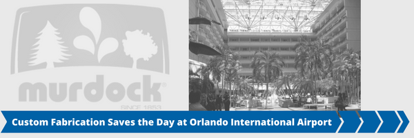 Custom Fabrication Saves the Day at Orlando International Airport