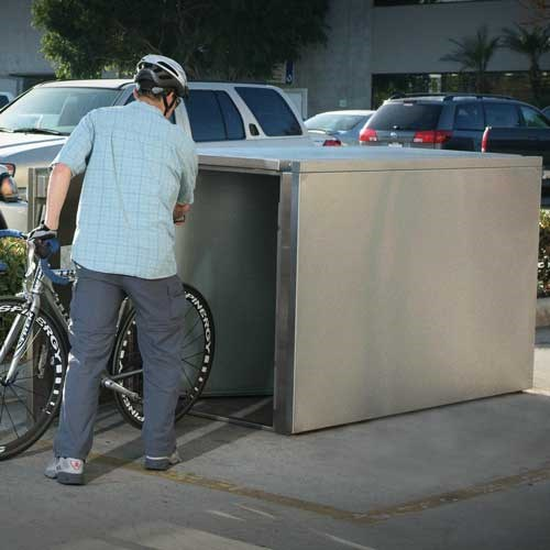 Extra Heavy Duty Bike Locker