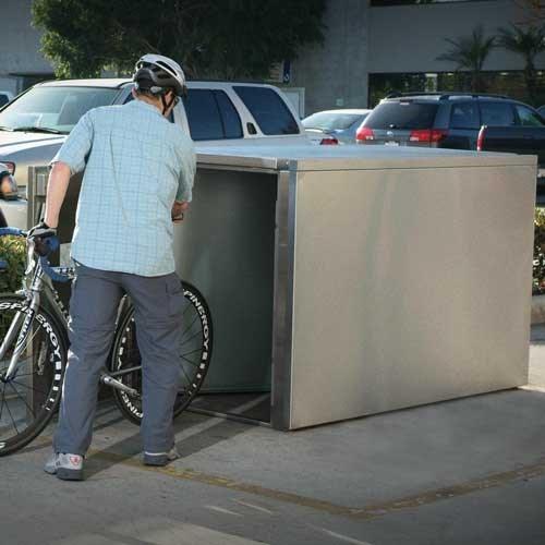 Extra Heavy Duty Bicycle Lockers