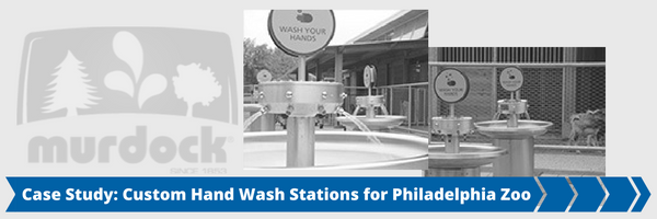 Custom Hand Wash Station for Philadelphia Zoo
