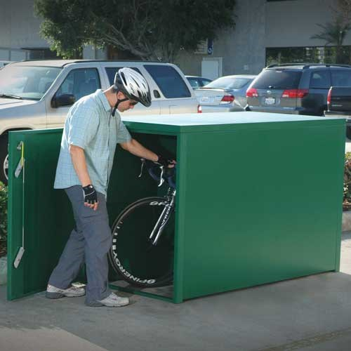 Heavy Duty Bike Lockers