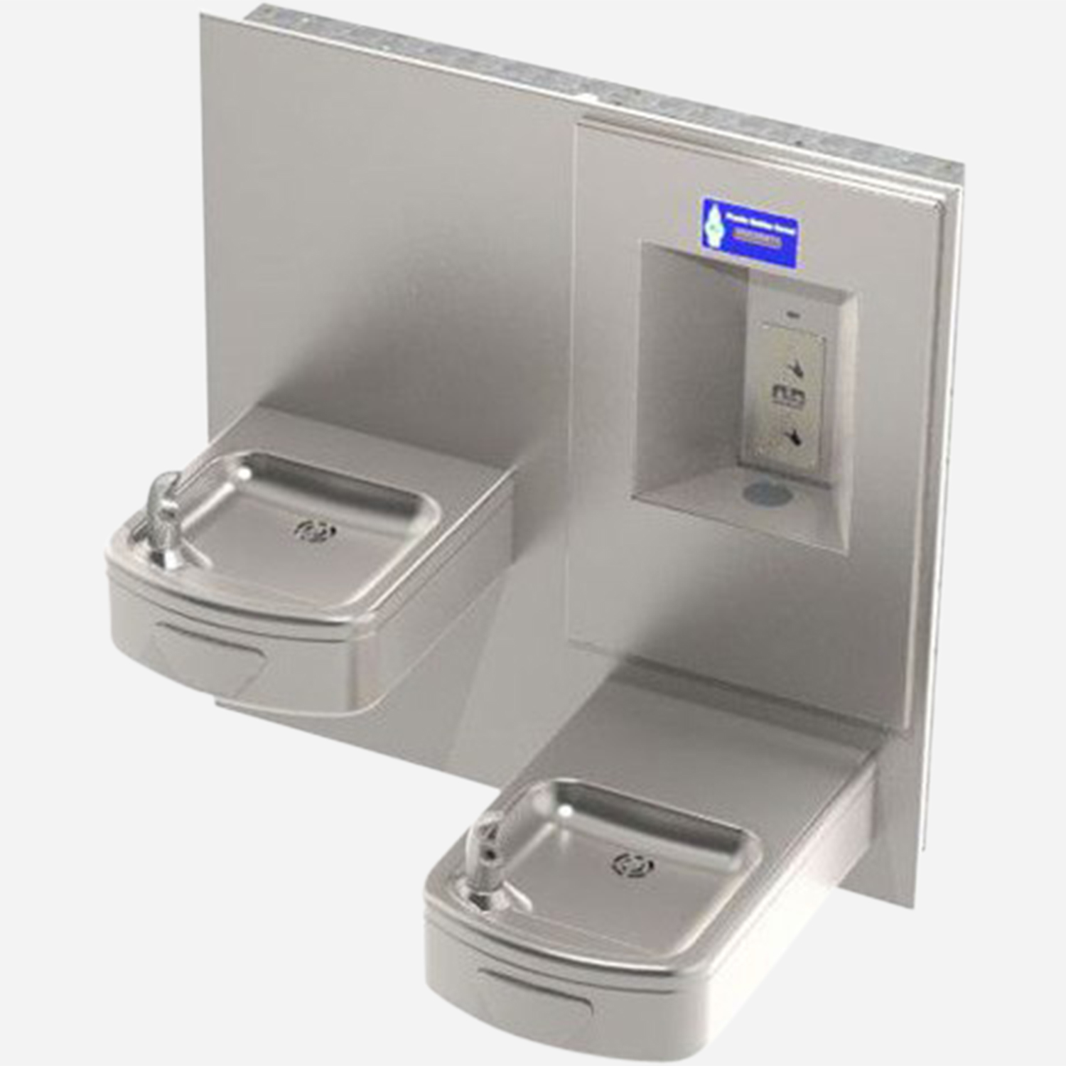 Indoor Drinking Fountain and Bottle Filler