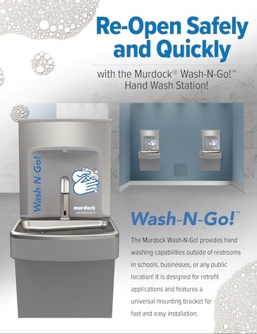 Indoor Retrofit Wash-N-Go Hand Washing Station