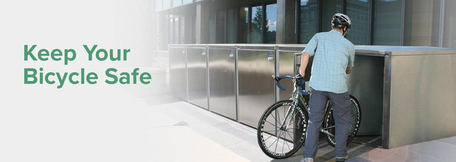 Metal Bicycle Storage