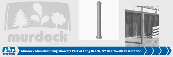 Murdock Showers Part of Long Beach New York Boardwalk Restoration