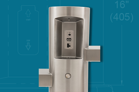 Drinking Fountain Expanded Line Murdock