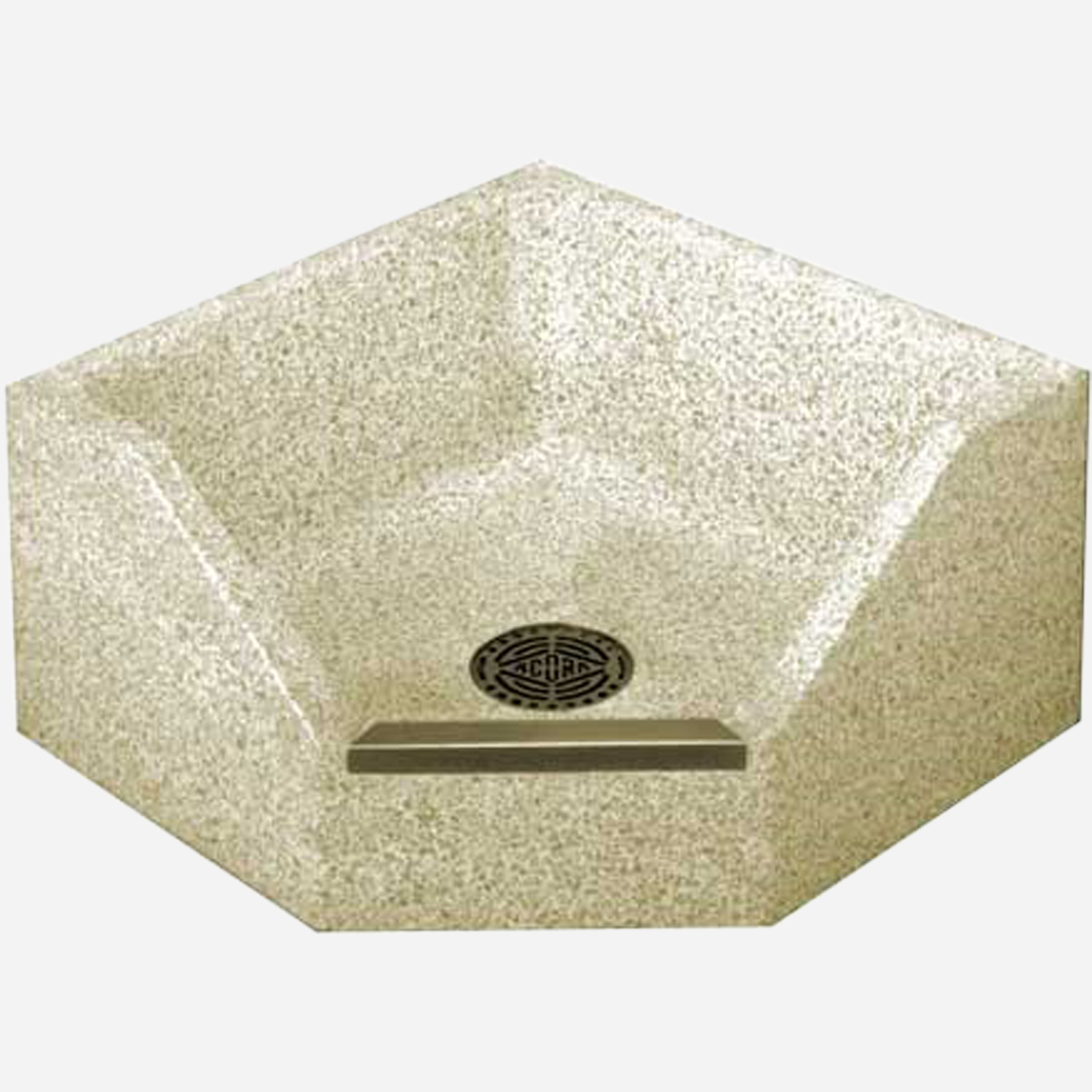 Stainless Steel Service Sinks and Terrazzo Mop Sinks