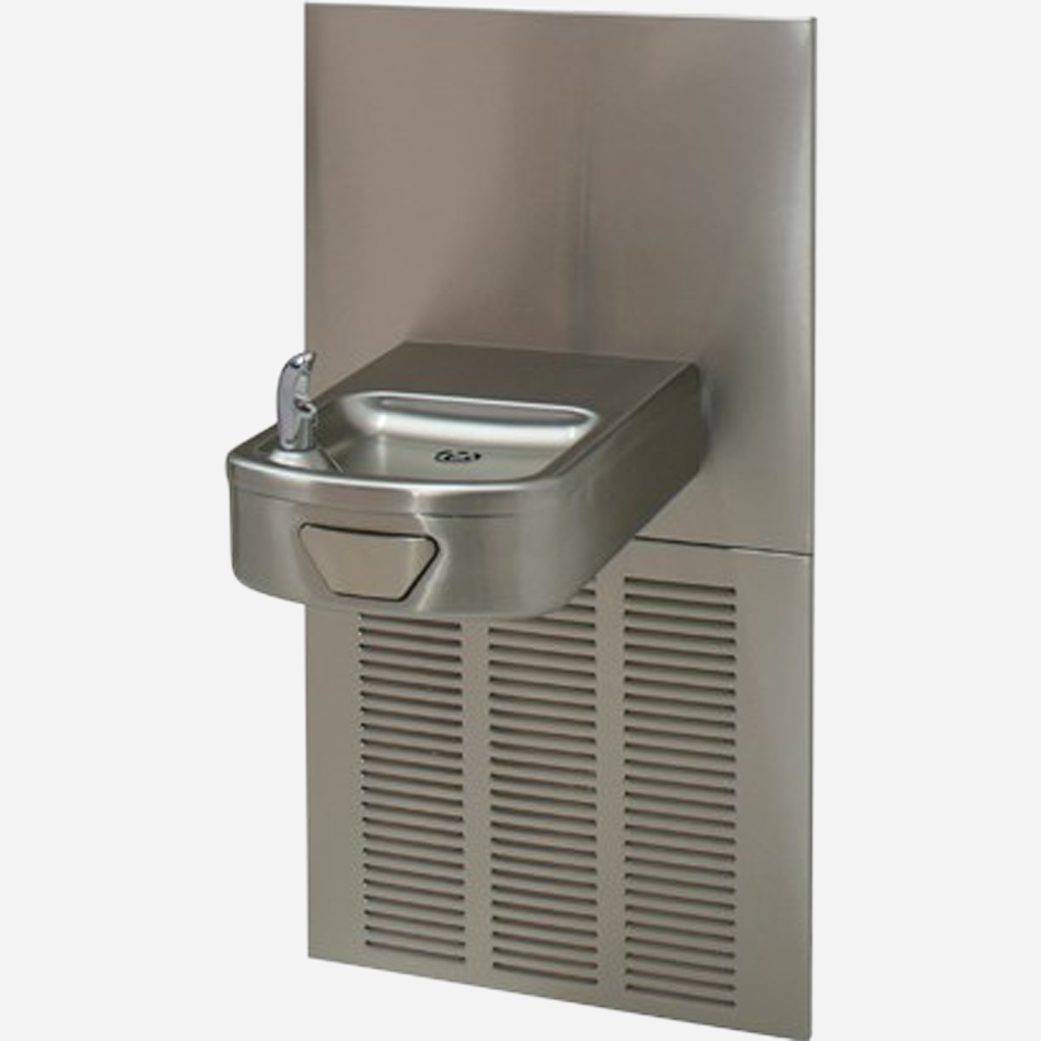 Electric Water Cooler with In-Wall Chiller