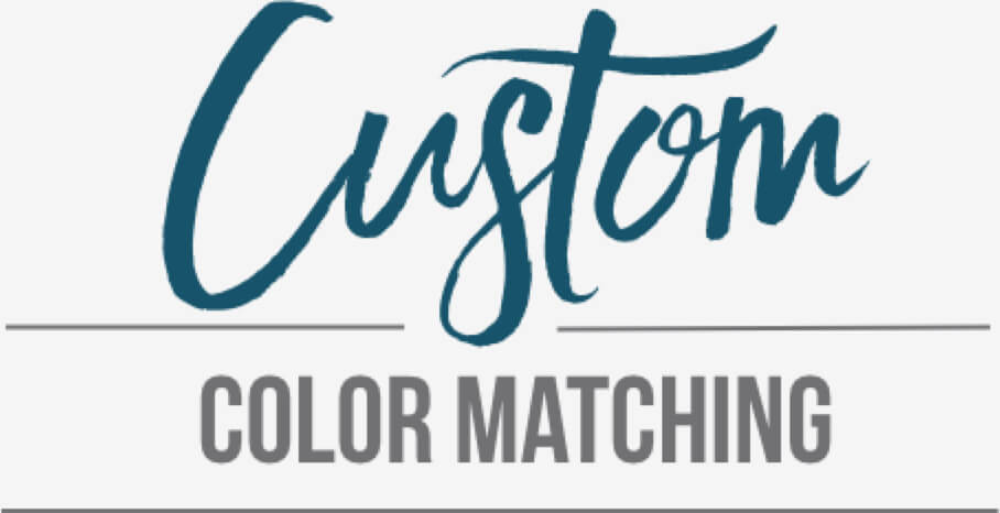 Custom Color Matching for Logos