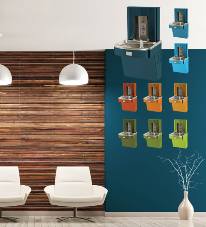 Color Match Custom Water Coolers