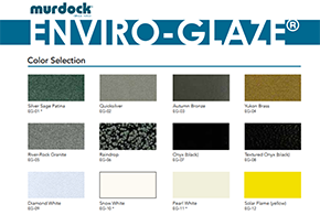 Enviro-Glaze Color Chart