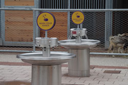 Murdock Custom Hand Washing Station at Philadelphia Zoo