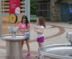 Custom Morris Group Hand Washing Station at Philadelphia Zoo
